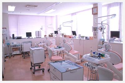 山田歯科医院診察室の風景